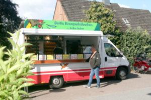 Hähnchenwagen mit Berti